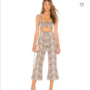 For love and lemons brocade matching outfit. Small